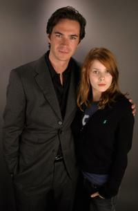 James D'Arcy and Rachel Hurd-Wood at the Portrait Studio during the AFI Fest 2005.