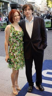 Craig Ferguson and his wife at the London Premiere of