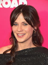 Zooey Deschanel at the New York premiere of
