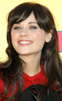 Actress Zooey Deschanel at the 8th Annual Teen Choice Awards in Universal City.