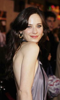 Actress Zooey Deschanel at the Hollywood premiere of