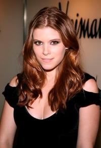 Kate Mara at the preview fashion show of the Spring/Summer 2007 collection of Emanuel Ungaro.
