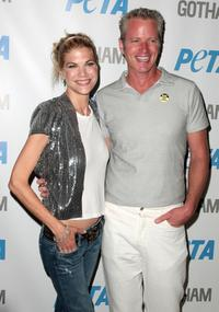 Kristen Johnston and Dan Matthews at the screening of