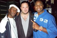 Flash, Jeremy Miller and Doug E. Fresh at the party to celebrate The Source Magazine's 15th anniversary.