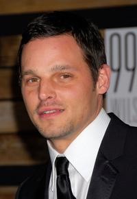 Justin Chambers at the EMA and E Golden Green After Party.