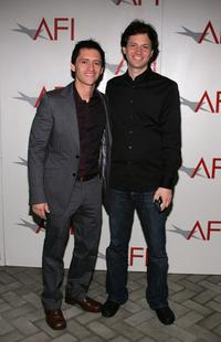 Clifton Collins, Jr. and Director Bennett Miller at the AFI Awards Luncheon 2005.
