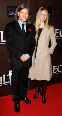 Crispin Glover and Guest at the European premiere of
