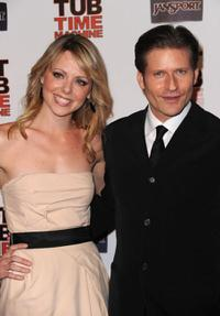 Collette Wolfe and Crispin Glover at the California premiere of