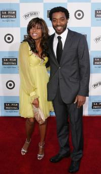 Taraji P. Henson and Chiwetel Ejiofor at the Los Angeles Film Festival opening night screening of