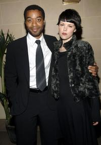 Chiwetel Ejiofor and Sarah Jane at the