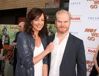Allison Janney and Jim Gaffigan at the special New York screening of