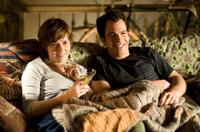 Amy Adams as Julie Powell and Chris Messina as Eric Powell in