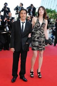 Yvan Attal and Charlotte Gainsbourg at the 62nd Annual Cannes Film Festival.