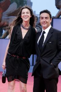 Yvan Attal and his wife Charlotte Gainsbourg at the premiere of