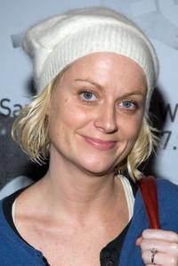 Amy Poehler at the Radars toast to the New Radicals.
