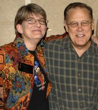 Karen Prell and Dave Goelz at the special 20th anniversary screening of