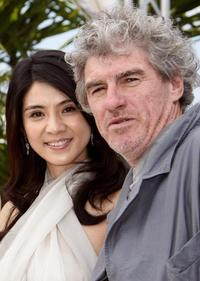 Charlie Young and Christopher Doyle at the 61st International Cannes Film Festival.