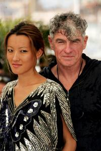 Rain Li and Christopher Doyle at the premiere of