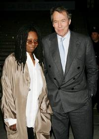 Whoopi Goldberg and Charlie Rose at the the Vanity Fair party of 2007 Tribeca Film Festival.