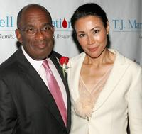 Al Roker and Ann Curry at the T.J. Martell Foundation 30th Anniversary Gala.