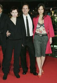 Julia Hummer, Benno Fuermann and Sabine Timoteo at the premiere of