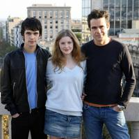 Ben Whishaw, Rachel Hurd-Wood and Tom Tykwer at the photocall of the presentation of