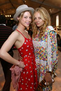 Lauren German and Bijou Phillips at the Mercedes-Benz Fashion Week.