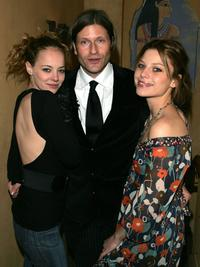 Bijou Phillips, Crispin Glover and Lauren German at the premiere of