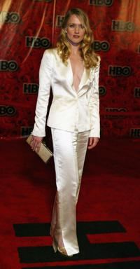 Paula Malcomson at the HBO's post Emmy party during the 56th annual primetime Emmy Awards.