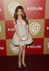 Sarah Hyland at the 14th Annual Warner Bros. And InStyle Golden Globe Awards After party.