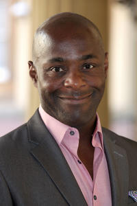 Paterson Joseph at the Young People and The Performing Arts Reception in London.