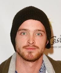 Aaron Paul at the 6th Annual World Poker Tour Invitational Kick Off.