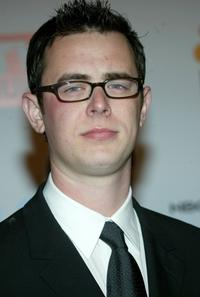 Colin Hanks at the Universal/NBC/Focus Features Golden Globe after party.