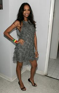 Zoe Saldana at the after party of
