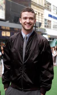 Justin Timberlake at the British premiere of