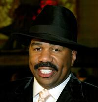 Steve Harvey at the premiere of