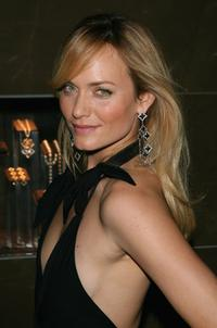 Amber Valletta at the grand opening of the David Yurman Boutique.