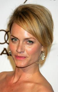 Amber Valletta at the 14th Annual Elton John Academy Awards viewing party.