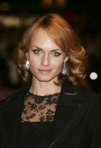 Amber Valletta at the premiere of