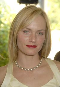 Amber Valletta at the Couture Cares: A Benefit for Breast Cancer featuring an outdoor runway presentation of the Nina Ricci Spring/Summer 2008 collection.