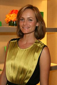Amber Valletta at the Smythson, Rodeo Drive store launch party.