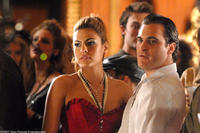 Eva Mendes and Joaquin Phoenix in