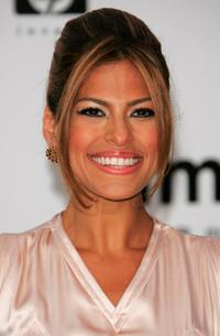 Eva Mendes at the Cinema Against Aids 2007 in aid of amfAR.