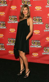 Eva Mendes at the 4th Annual Spike TV 2006 Video Game Awards.