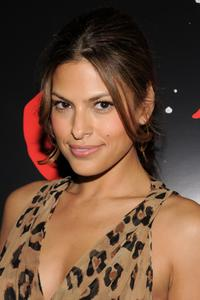 Eva Mendez at the 2008 New York Comic Con party of
