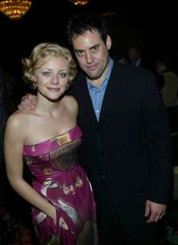 Jessica Cauffiel and Orny Adams at the 14th Annual Awards Benefit of the Friendly House.