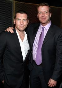 Sam Worthington and McG at the after party of the premiere of