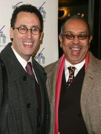 Tony Kushner and Director George C.Wolfe at the Tisch School of the arts annual gala benefit.