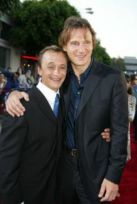 Ravil Isyanov and Liam Neeson at the premiere of