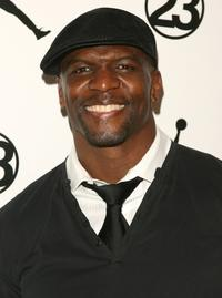 Terry Crews at the NBA All-Star Saturday Night during the 2008 NBA All-Star Weekend.